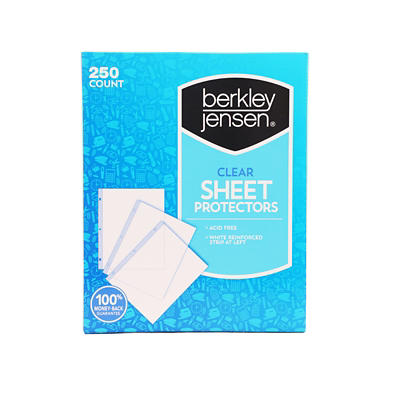 Berkley Jensen Clear Sheet Protectors, 250 ct.