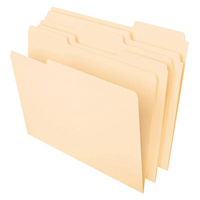 Pendaflex Essentials Letter-Size Manila Folders, 150 pk.