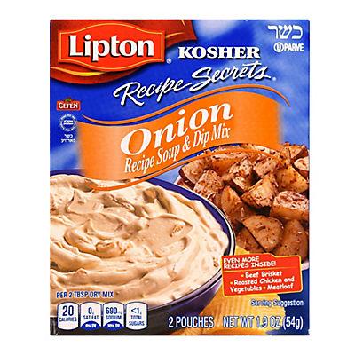 Lipton Kosher Onion Soup & Dip Mix, 4 pk./7.6 oz.