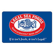 $50 Legal Sea Foods Gift Card with $10 Bonus Gift Card