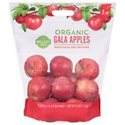 Wellsley Farms Organic Gala Apples, 5 lbs.