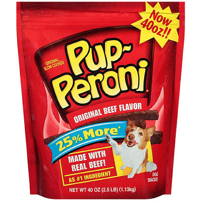 Pup-Peroni Original Beef Flavor Dog Snacks, 40 oz.