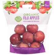 Wellsley Farms Organic Fuji Apples, 5 lbs.