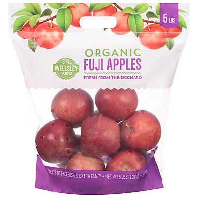 Wellsley Farms Organic Fuji Apples, 5 lbs.