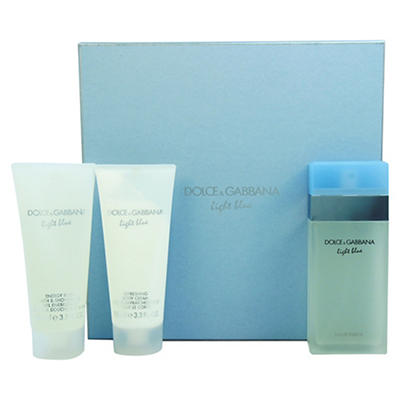 Light Blue by Dolce & Gabbana for Women 3-Pc. Gift Set