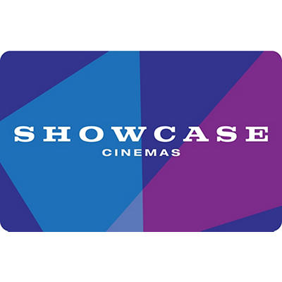 Showcase Prestige Cinemas Movie Ticket Gift Card