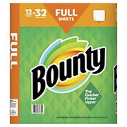 Bounty Enormous Roll Paper Towels, 12 pk. - White