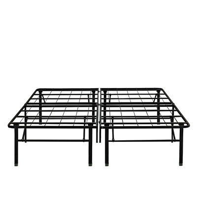 "Contour Rest Dream Support King Size 18"" Metal Platform Bed Frame - Bl"