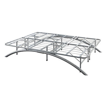 "Contour Rest Dream Support Deluxe 14"" Queen Size Metal Platform Frame"