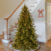 National Tree Company Feel Real Avalon Spruce Medium Tree - Clear