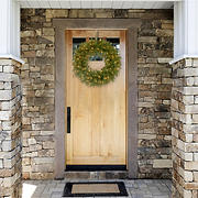 """National Tree Company 24"""" North Valley Spruce Wreath with Dual Color Lights"""
