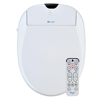 Brondell Swash 1000 Bidet Elongated Toilet Seat - White