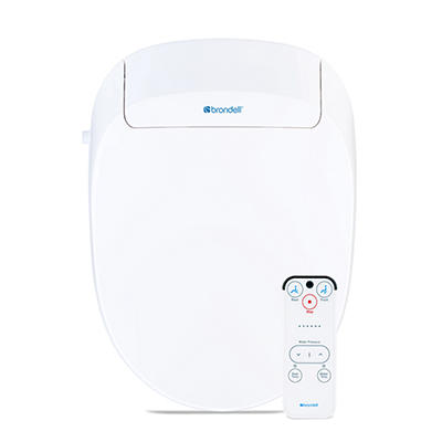 Brondell Swash 300 Bidet Elongated Toilet Seat - White