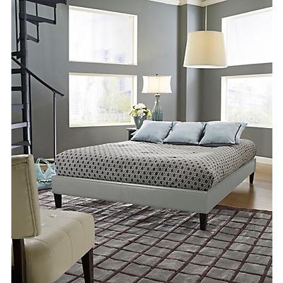 Contour Rest Blaine Full-Size Simulated Leather Platform Bed Frame - G