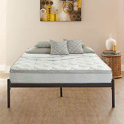Contour Rest Garner Queen-Size Metal Platform Bed Frame - Black