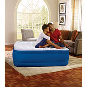 "Simmons Beautyrest Plush Aire Queen-Size 17"" Airbed - Blue"