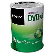 Sony DVD+R Blank Discs, 100 pk.