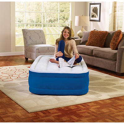 "Simmons Beautyrest Plush Aire Twin 15"" Airbed - Blue"