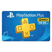 $59.99 Sony PlayStation 12-Month Membership Gift Card