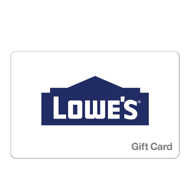 $75 Lowe's Gift Card