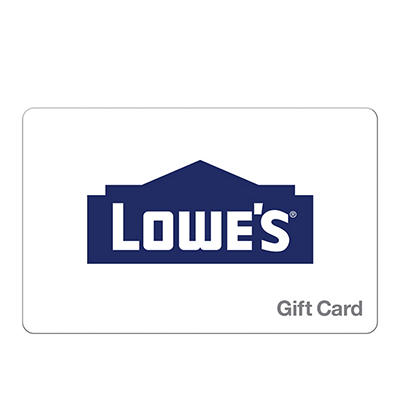$25 Lowe's Gift Card, 3 pk.
