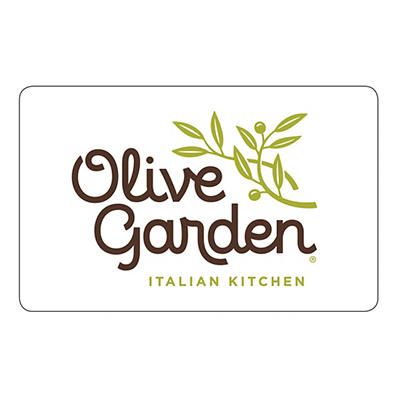 $15 Olive Garden Gift Card, 4 pk.