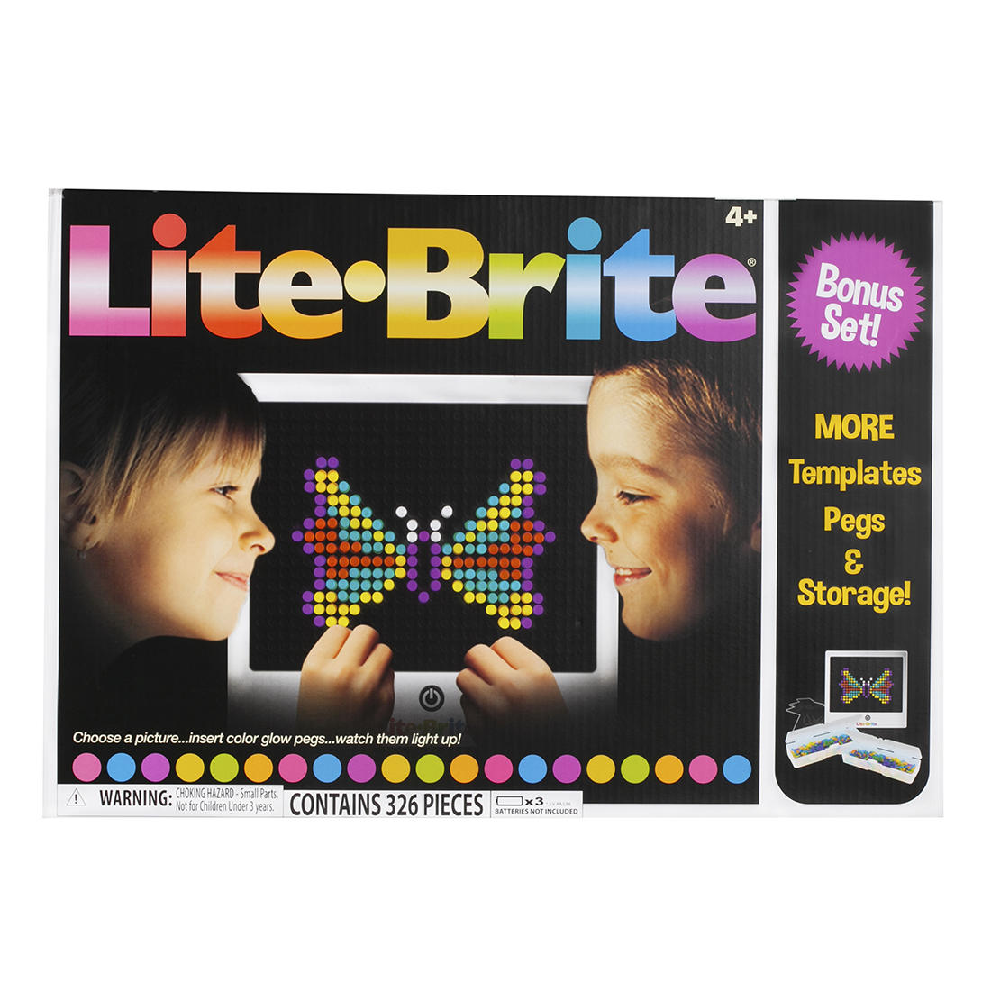 image relating to Printable Lite Brite Templates called Lite Brite Double Reward Preset