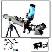 Galileo 800mm x 60mm Refractor Telescope with Smartphone Adapter