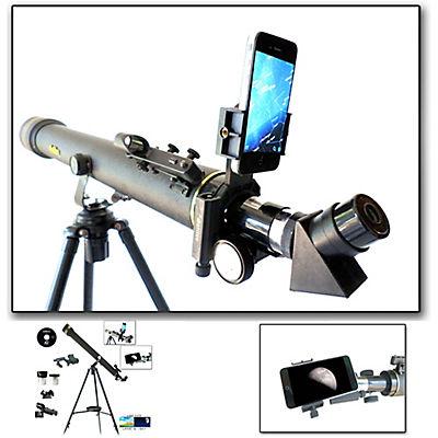 Galileo 800mm x 60mm Refractor Telescope with Smartphone Adapter