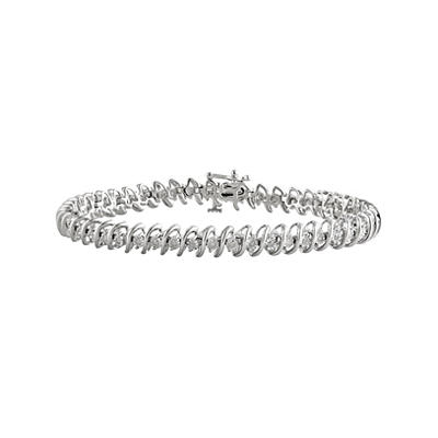 .50 Carat Diamond Tennis Bracelet in Sterling Silver