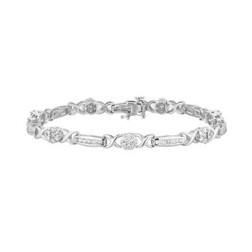 c436940207bb45 2.00 Carat Diamond Tennis Bracelet in 14k White Gold. Item: 14903 Model:  KB1037. Be the first to write a review. Use + and - keys to zoom in and  out, ...