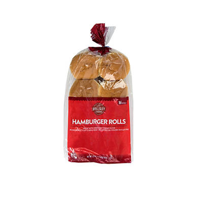 Wellsley Farms Hamburger Rolls, 16 ct.