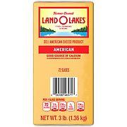 Land O'Lakes Sliced Yellow American Premium Deli Cheese, 3 lbs.