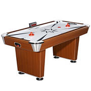 Carmelli Midtown 6' Air Hockey Table with Electronic Scoring - Cherry