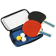 Carmelli Control Spin Table Tennis 2-Player Racket and Ball Set