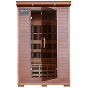 Radiant 2-Person Cedar Infrared Sauna with 6 Carbon Heaters