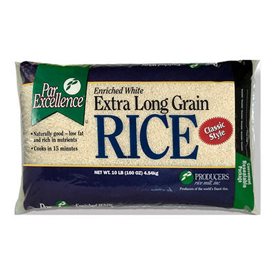 Producers Rice ParExcellence Premium Long Grain Rice, 10 lbs.