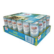 Dole 100% Pineapple Juice, 24 pk./8.4 oz.