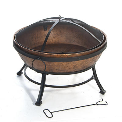 "DeckMate Avondale 31.2"" Steel Fire Bowl"