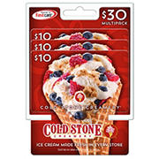 Cold Stone Creamery $10 Gift Card, 3 pk.