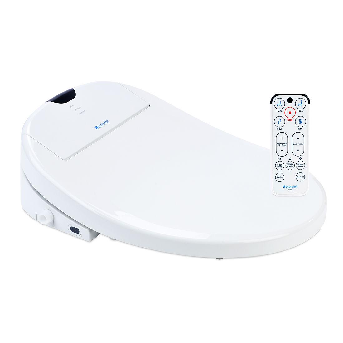 Sensational Brondell Swash 1000 Advanced Round Bidet Toilet Seat White Alphanode Cool Chair Designs And Ideas Alphanodeonline