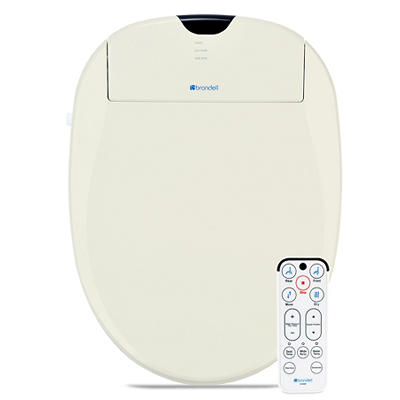 Brondell Swash 1000 Advanced Elongated Bidet Toilet Seat - Biscuit