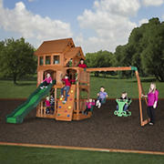 Backyard Discovery Liberty II All-Cedar Swing Set