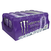 Monster Ultra Violet Energy Drink, 24 pk.