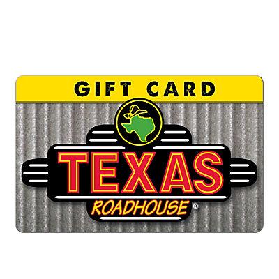 Texas Roadhouse $50 Gift Card
