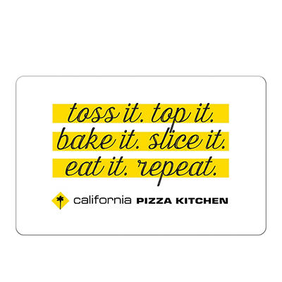 California Pizza Kitchen $25 Gift Card