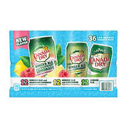 Canada Dry Summer Variety Pack, 36 pk./12 oz.
