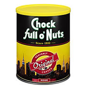 Chock Full O'Nuts Original Blend Ground Coffee, 3 lbs.