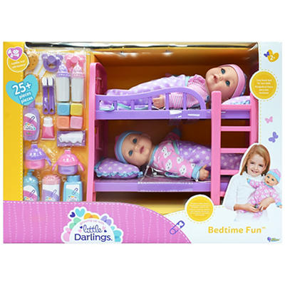 Little Darlings Bedtime Fun Doll Set