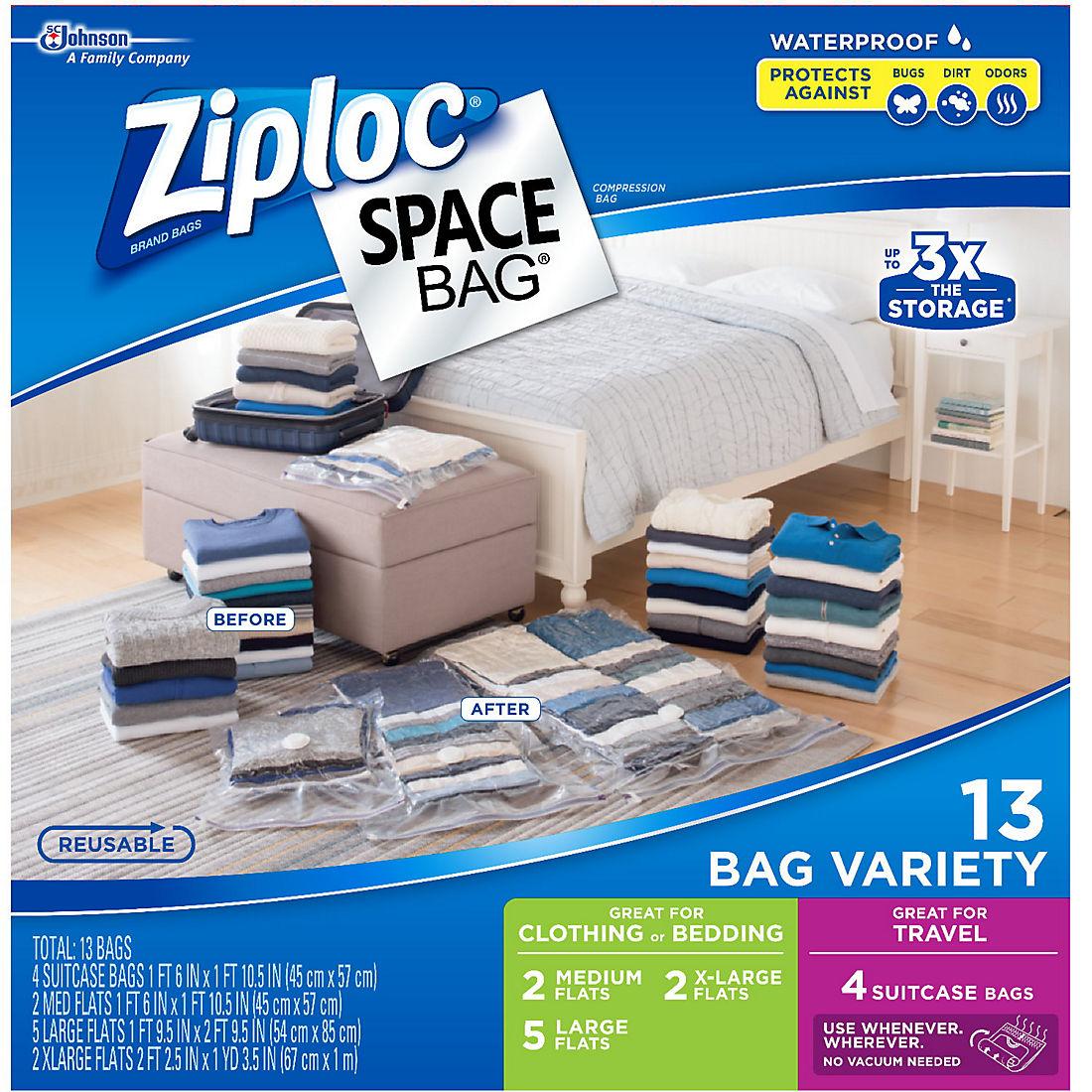 fedd187636c7 Ziploc Space Bags Variety Pack, 13 ct.
